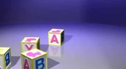 Embedded thumbnail for Футаж Детский Переходы Кубики ABC скачать бесплатно