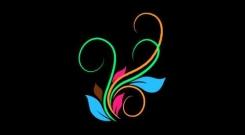 Embedded thumbnail for Футаж Анимация Цветных Цветочных Узоров скачать бесплатно